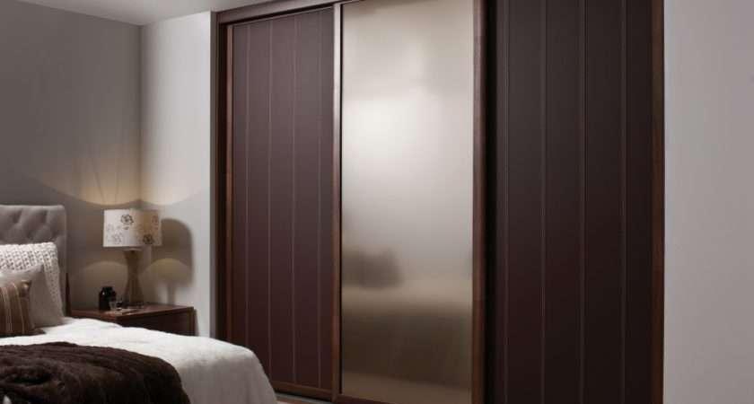 Fancy Wooden Sliding Door Wardrobe Designs Bedroom Italian