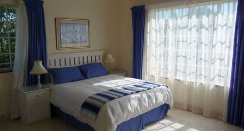 Fantastic Cool Colors Bedrooms Blue Curtain Windows