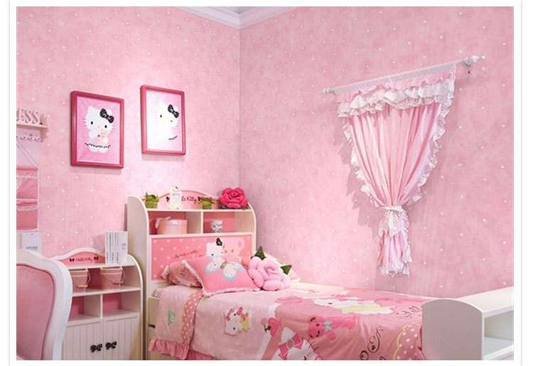 Fantasy Pink Blue Boy Girl Paper Roll Baby Room