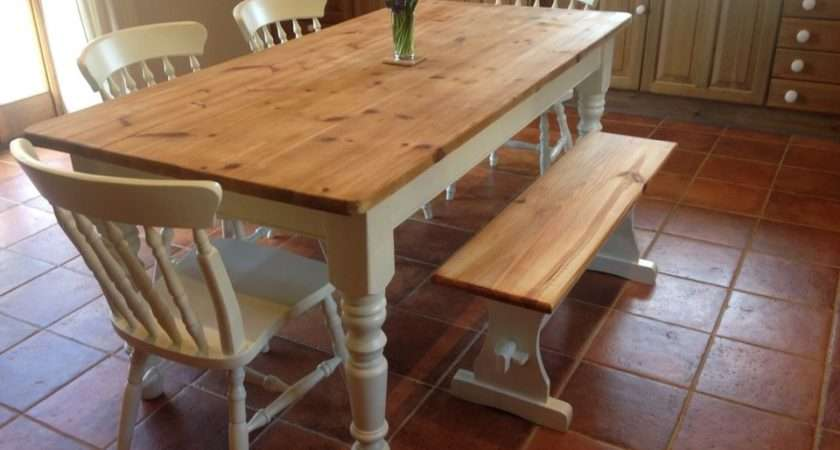 Farmhouse Kitchen Tables Chairs Marceladick