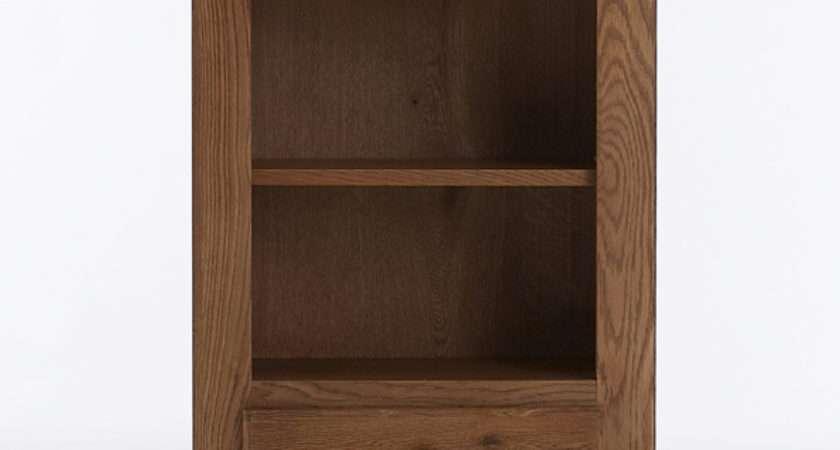 Farmhouse Oak Telephone Table Solid Wood Lounge