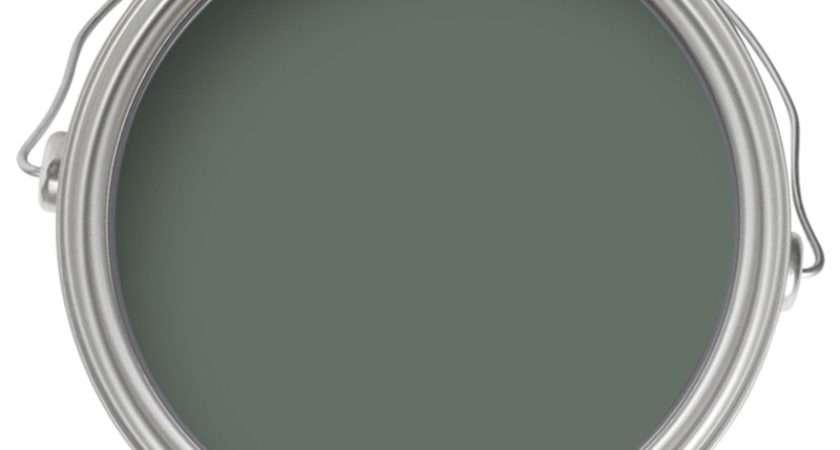 Farrow Ball Modern Eggshell Midsheen Paint Green Smoke