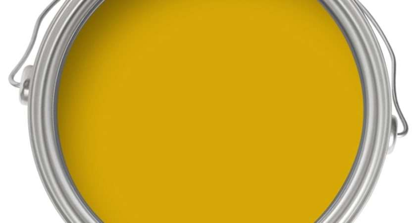 Farrow Ball Modern India Yellow Emulsion Paint