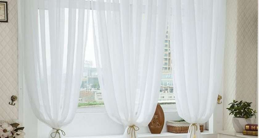Fashion High Quality Product Tulle Curtains Modern Voile