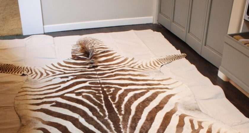 Faux Zebra Skin Rug Rugs Ideas