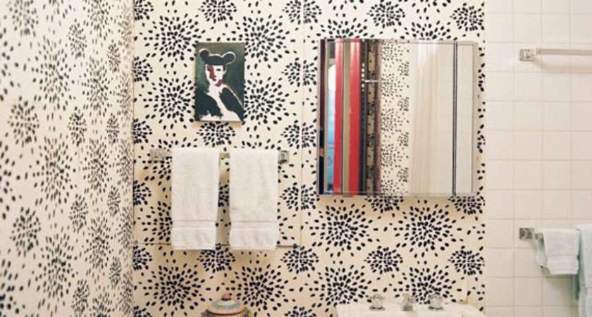 Favorites Wallpapered Powder Rooms Simplified Bee