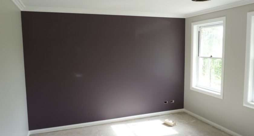 Feature Wall Basically One Different Colour