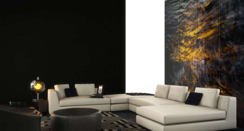 Feature Wall Lounge