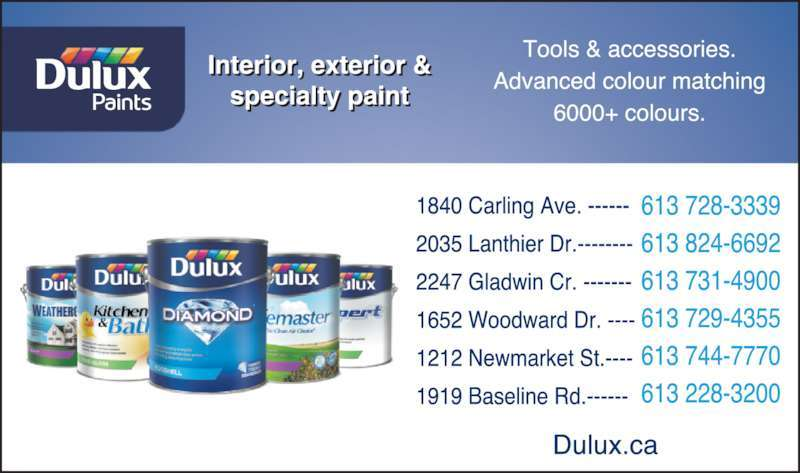 Featured Businesses Paint Retail Around Dulux Paints