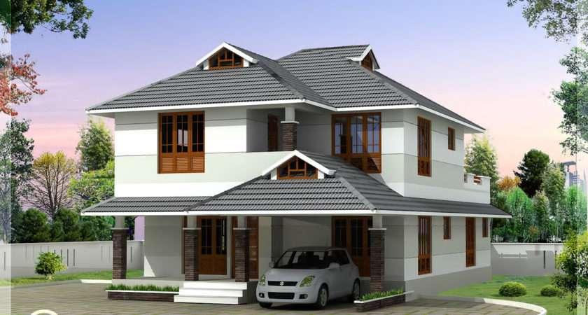 Feet Beautiful Bedroom House Plan Kerala Home Design