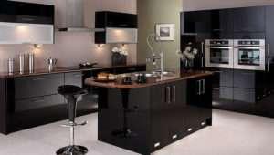 Felton Gloss Black Kitchen Package Kitchens Furniture