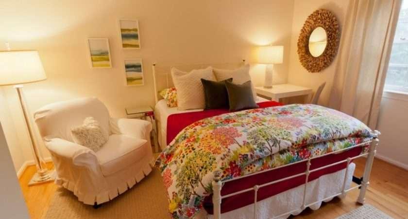 Feminine Master Suite Eclectic Bedroom Metro