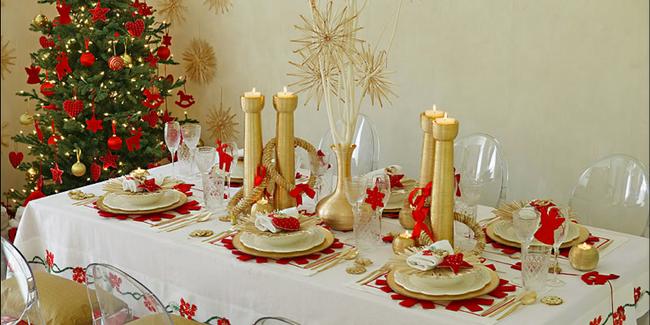 Festive Christmas Dinner Table Decorations Easy Diy Ideas