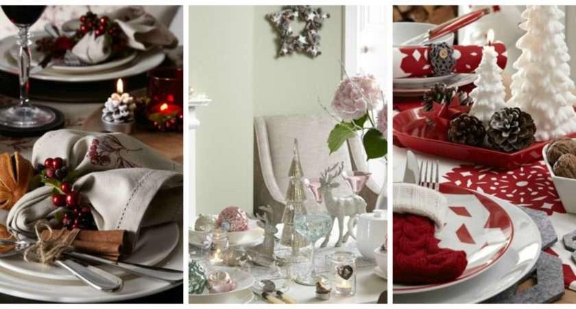 Festive Home Decor Christmas Table Decoration Ideas Gems
