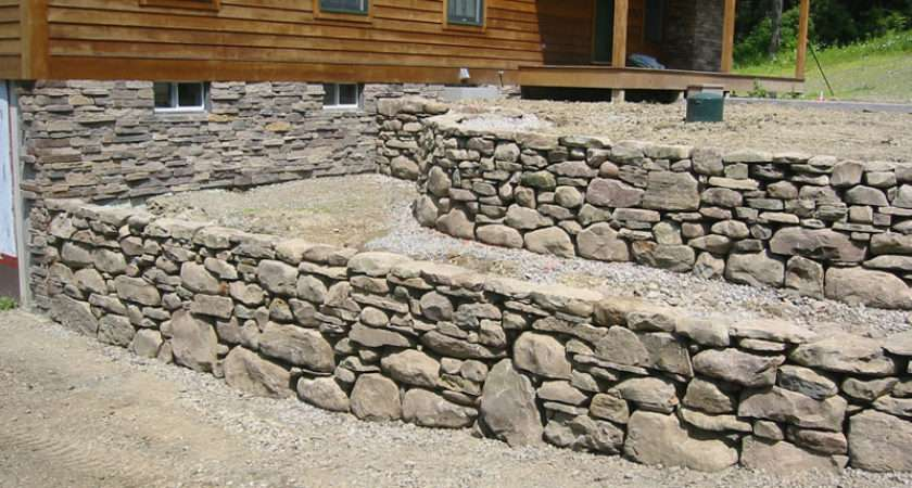 Fieldstone Wall Stone Field Pillars
