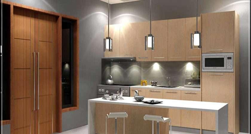 Fill Gap Small Modern Kitchen Designs
