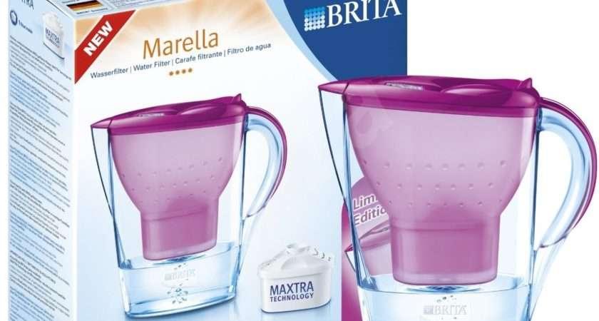 Filter Kettle Brita Marella Cool Memo Tulip Pink Cartridges