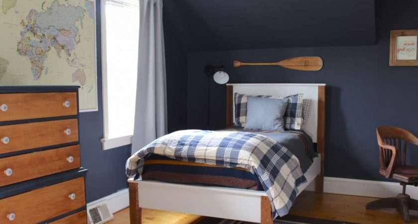 Final Reveal Bennett Navy Boys Bedroom Lehman Lane