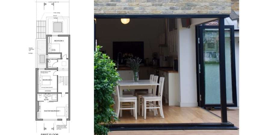 Finchley Barnet House Extension First Floor Design Plan