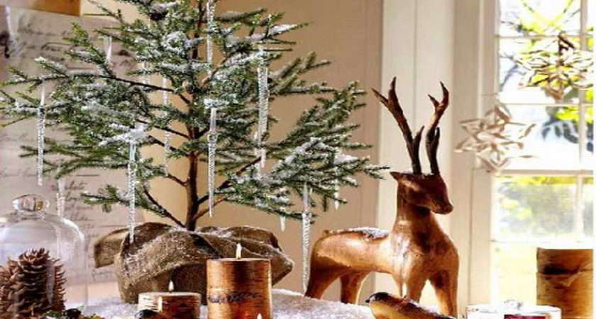 Fine Christmas Dining Room Table Decorations