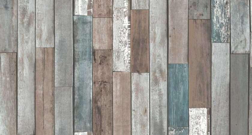 Fine Decor Reclaimed Wood