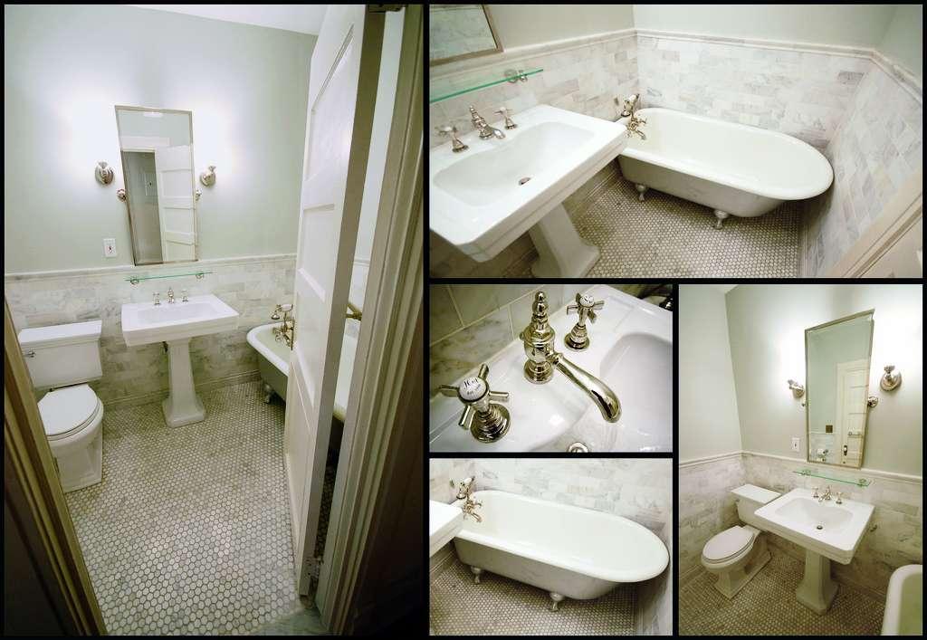 Finished Glamour Vintage Bathroom