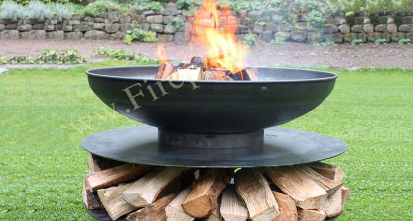 Fire Pit Classic Ring Logs Firepits
