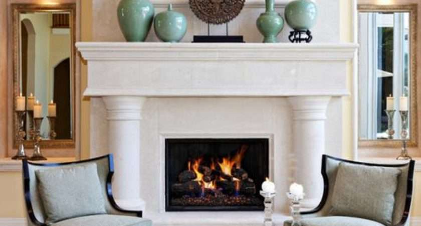Fireplace Decorating Houzz