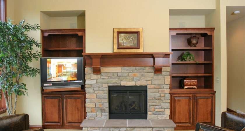 Fireplace Mantel Design Ideas Classic House Interior