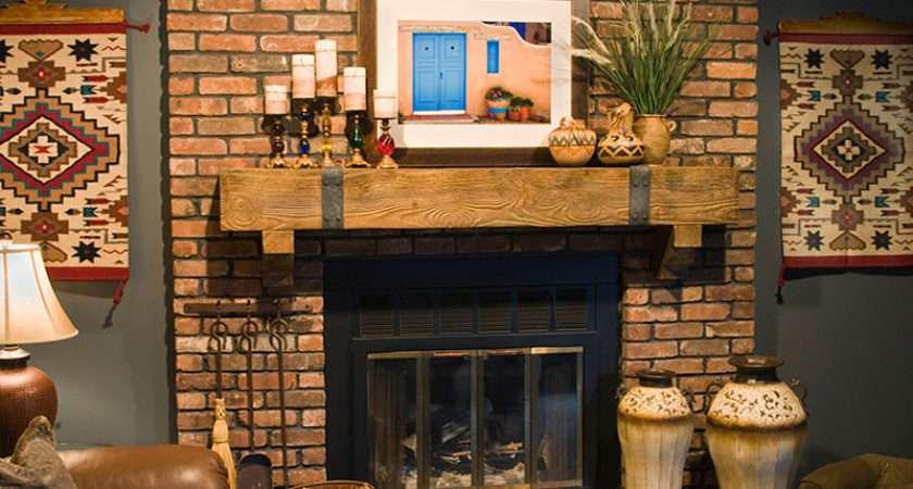 Fireplace Mantel Shelves Design Ideas