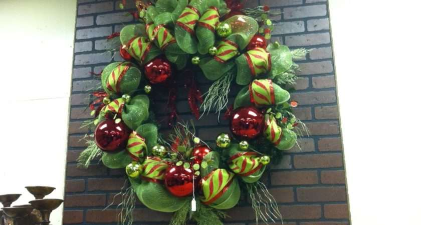Fireplace Wreath Large