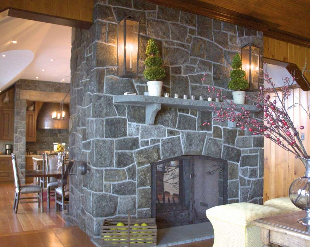 Fireplaces Stone Fireplace Wall Ideas Design
