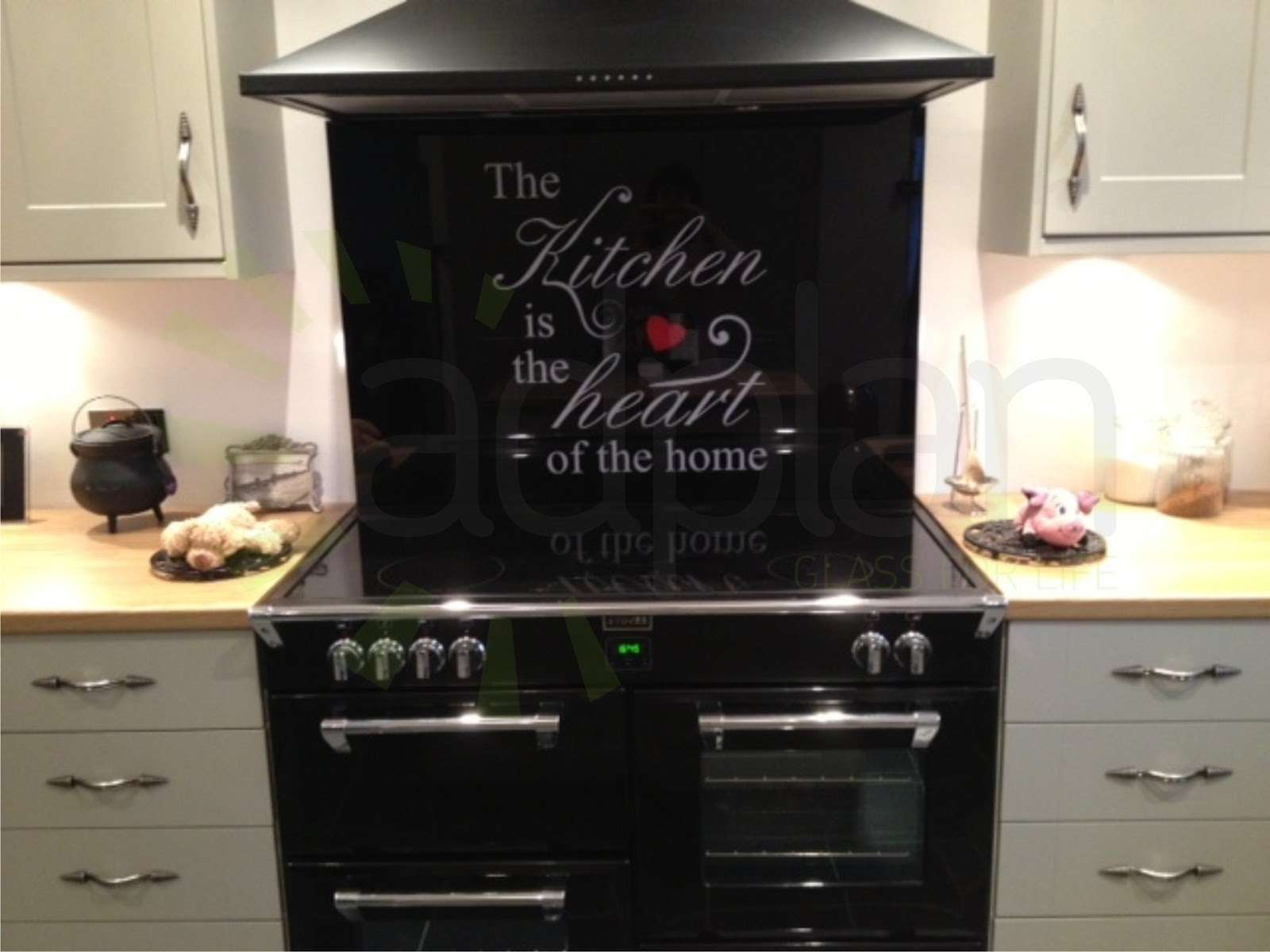 First Ramble Kitchen Heart Home Splashback