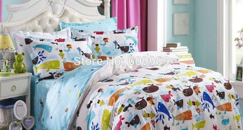 Fish Theme Bedding Set Ocean Ser Sea