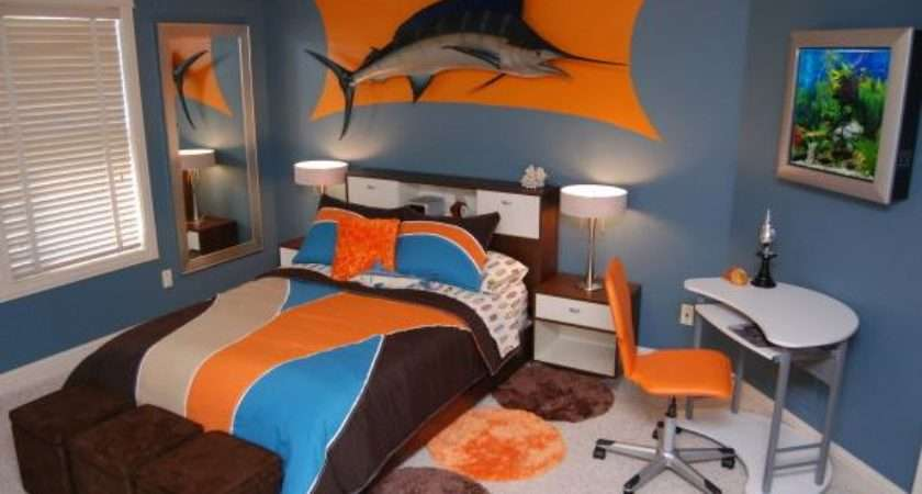Fishing Themed Bedroom Real Estate