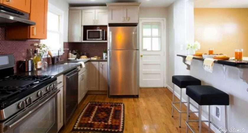 Fit Breakfast Bar Into Small Kitchen Youtube