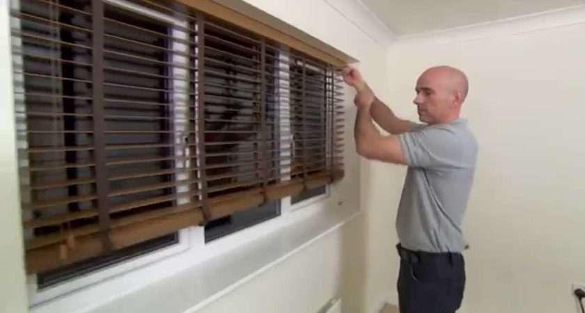 Fit Wooden Venetian Blinds Web Youtube