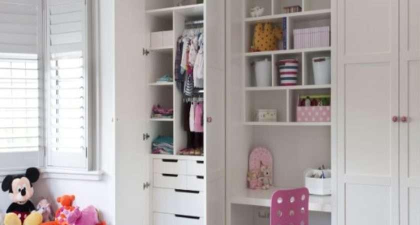 Fitted Children Storage Wardrobes Inhouse
