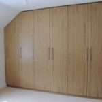 Fitted Furniture Ikea Wardrobes Into Awkward Alcove