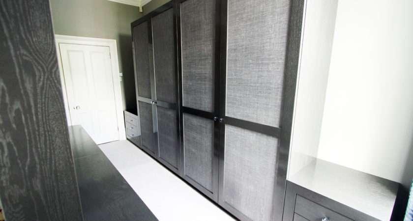 Fitted Wardrobes Bespoke Modern White Gloss