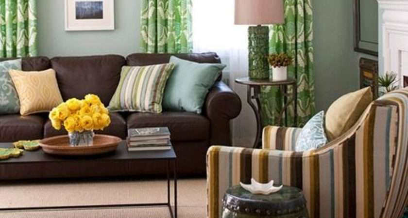 Five Ways Decorate Brown Sofa Decorating