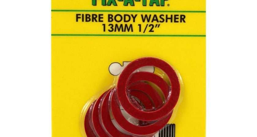 Fix Tap Fibre Body Washers