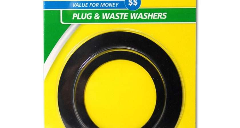 Fix Tap Plug Waste Washers Bunnings Warehouse