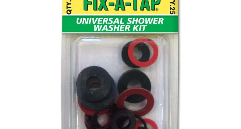 Fix Tap Universal Shower Washer Kit Assorted