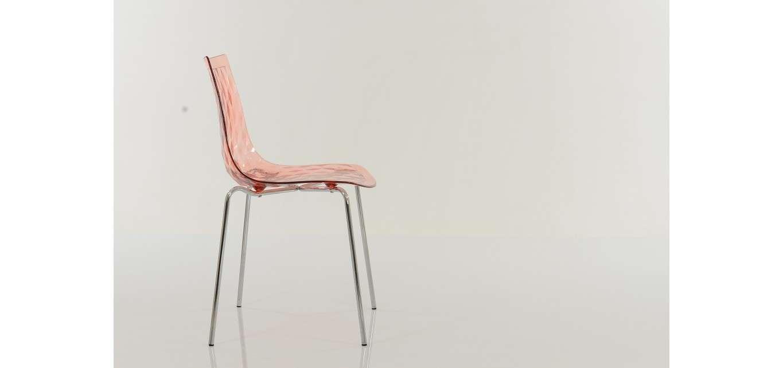 Fizz Gel Dining Chair Pink