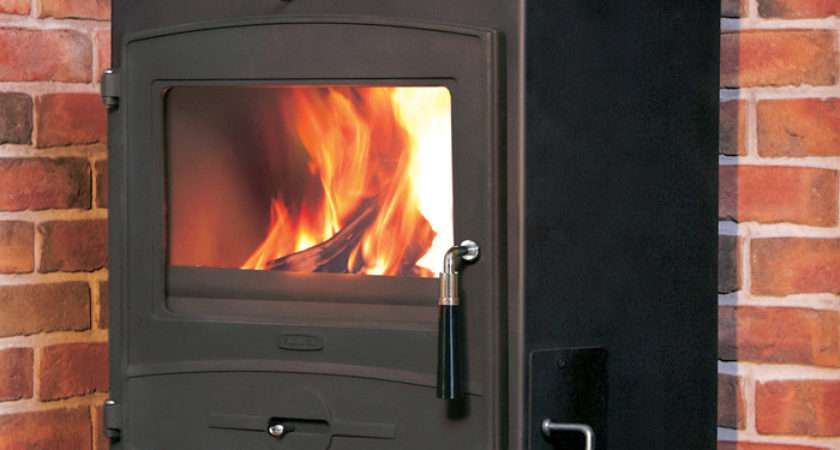 Flavel Central Heating Multifuel Wood Burning Stove