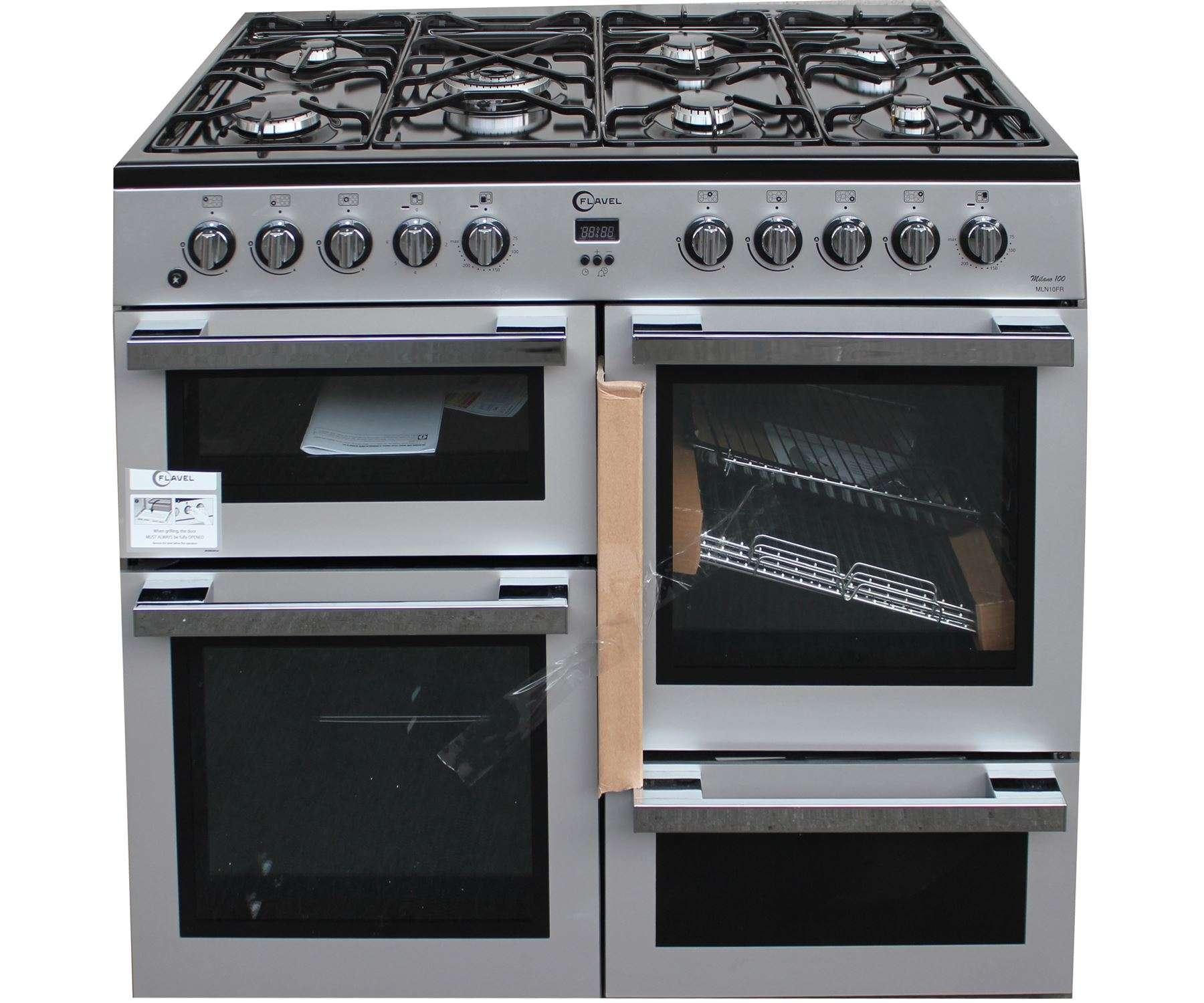 Flavel Mln Frs Dual Fuel Range Cooker Burner Silver