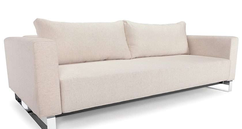 Flawless Sleek Furniture Cassius Sofa Queen