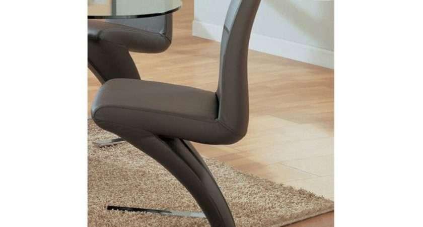 Flero Unique Zigzag Shape Dining Chair Color Options Omaha
