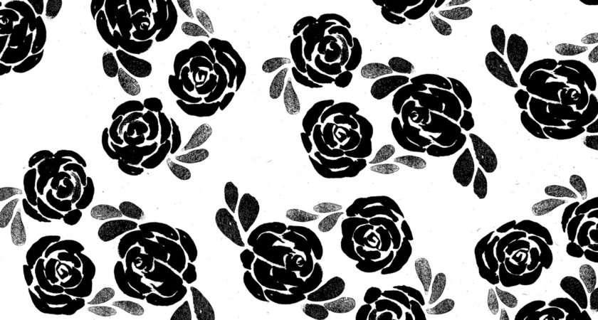 Fleur Lis Black White Tumblr Dubai Duty